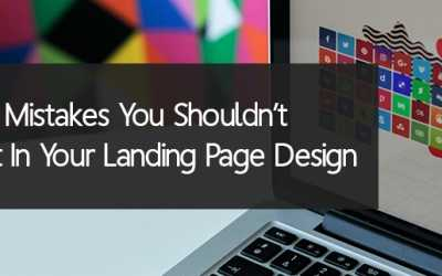 5 Color Mistakes You Shouldn't Commit In Your Landing Page Design
